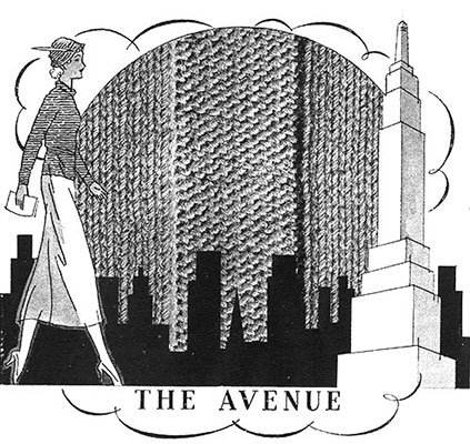 The Avenue Blouse Pattern #146 swatch