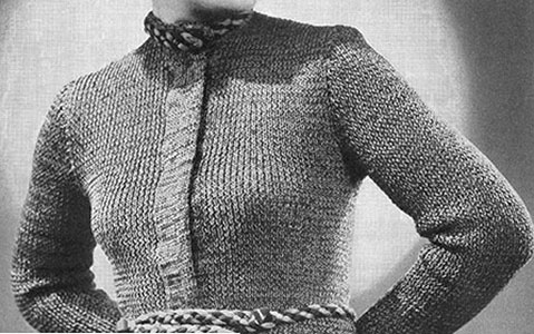 The Turnabout Cardigan Pattern #1060