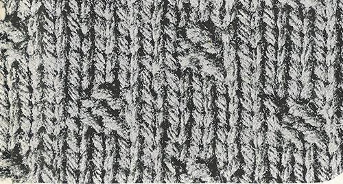 Par Vest Pattern #322 swatch