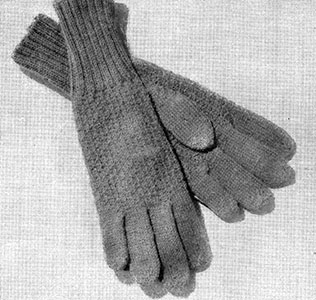 Men's Gloves Pattern #339M