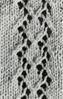 Diamond Bolero Pattern swatch