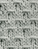 Straight Cardigan Pattern swatch