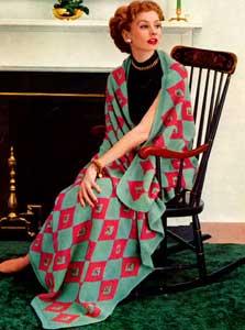 Harlequin Afghan Pattern