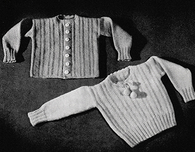 Baby Twin Set Pattern