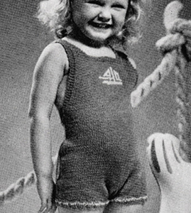 Knitted Bathing Suit Pattern #601