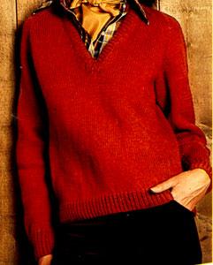 V-Neck Pullover Pattern