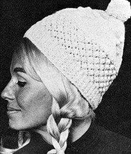 Knit Hat Pattern #2146