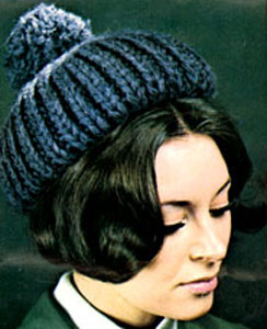 Knit Hat Pattern #2149