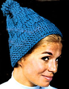 Knit Hat Pattern #2151