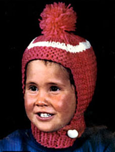Knit Hat Pattern #2154
