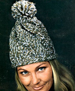 Knit Hat Pattern #2155