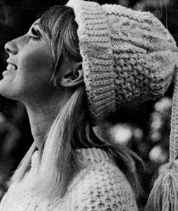 Knit Hat Pattern #2158