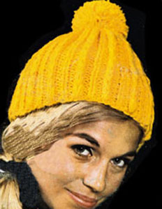 Knit Hat Pattern #2159