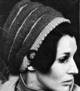 Knit Hat Pattern #2163