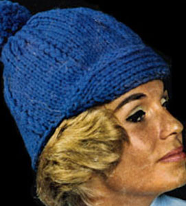 Knit Hat Pattern #2170