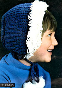 Knit Hat Pattern #2173