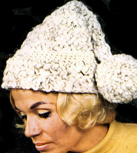 Knit Hat Pattern #2174