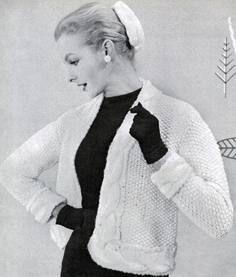Jacket & Chignon Hat Patterns No. 474