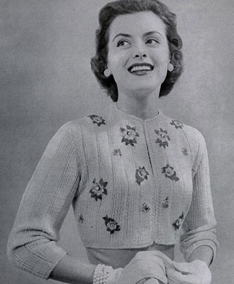 Jacket Pattern No. 487