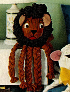Lion Toy Pattern