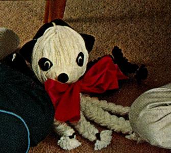 Panda Toy Pattern