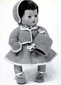 Winter Doll Clothes Pattern