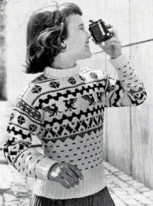 Pullover Sweater Pattern 5891