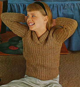 Pullover Sweater Pattern 5894