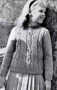 Pullover Sweater Pattern 5896