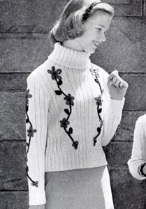 Pullover Sweater Pattern 5903
