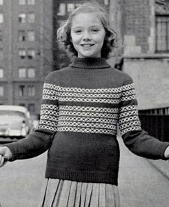 Pullover Sweater Pattern 5908