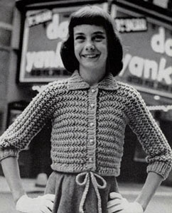 Cardigan Sweater Pattern 5911