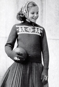Sweater, Mittens & Ear Warmer Patterns