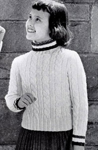 Pullover Sweater Pattern 5922