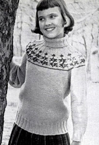 Pullover Sweater Pattern 5925
