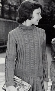 Pullover Sweater Pattern 5930