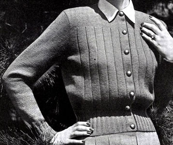Main Liner Cardigan Pattern