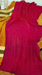 Lacy Mohair Afghan Pattern