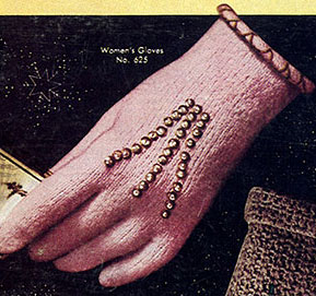 Women's Shorties Gloves Pattern #625