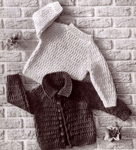Bulky Sweater Set Pattern