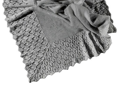 Free Vintage Knitting Patterns For Baby Blankets : Baby Blanket Pattern #5295 Knitting Patterns