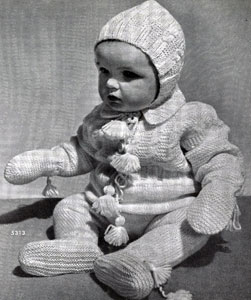 Baby Snowsuit No. 5313 Pattern