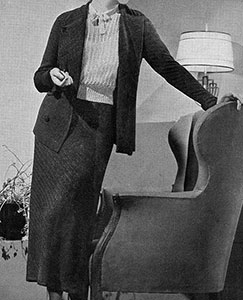 Twill Knit Suit Pattern #189