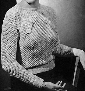 Honeycomb Blouse Pattern #194
