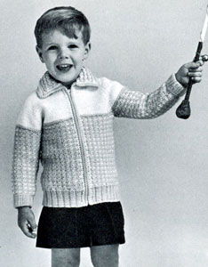 School Recess Raglan Cardigan Pattern