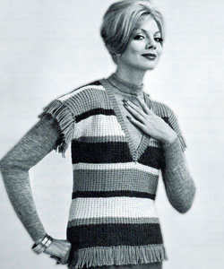 Greenwich Village Blouse Sweater Pattern