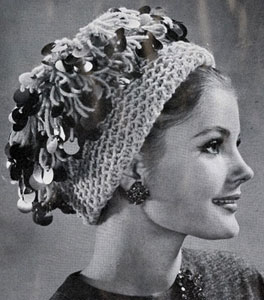 Knitted Loopy Hat Pattern