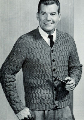 Quick Knit Twisted Cable Cardigan Pattern