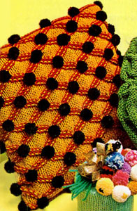 Pompon Pillow Pattern