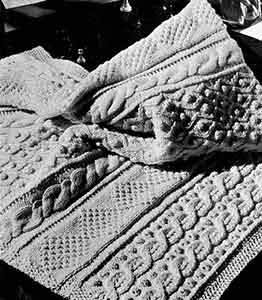 Isle of Aran Afghan Pattern